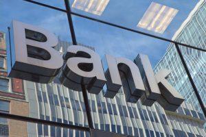 В банковском учреждении